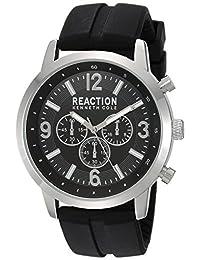 Kenneth Cole REACTION Men's 10030929 Sport Analog Display Japanese Quartz Black Watch