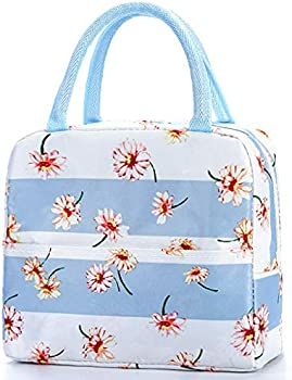 LISJFS Women's Insulated Water-Resistant Thermal Cooler Lunch Bag