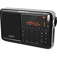 Eton Grundig Satellit AM / FM / Aircraft / SSB / Shortwave Radio with RDS, Black, NGWSATB