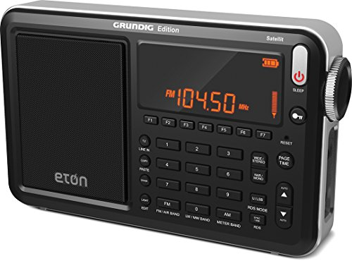 Eton Grundig Satellit AM / FM / Aircraft / SSB / Shortwave Radio with RDS, Black, NGWSATB (Best Cheap Shortwave Radio)