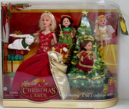 Barbie A Christmas Carol - Eden Starling and the 3 Christmas Spirits Gift Set (Barbie A Christmas Carol)