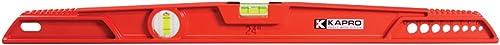 Kapro 730-24 Topcast Mason Aluminum Cast Level, 24-Inch, Red