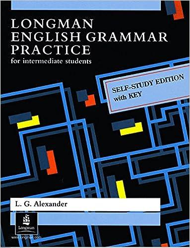 Longman English Grammar Practice with Key: Self-study Edition with ...