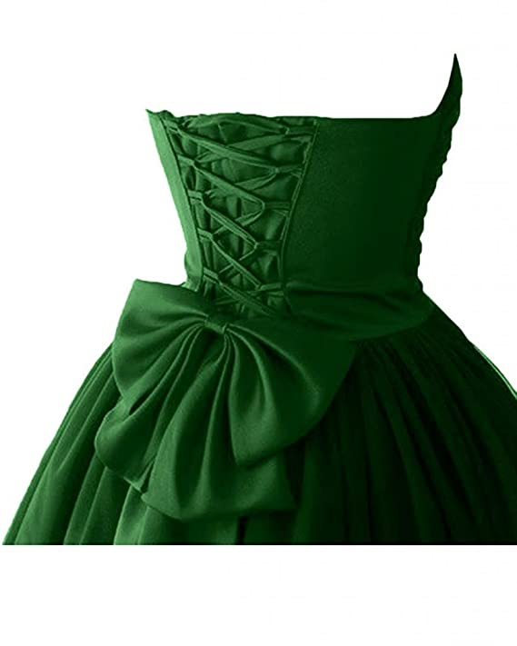 Amazon.com: Victoria Prom Womens Sweetheart Cocktail Dresses Satin Tulle Homecoming Party Dresses WSK07: Clothing