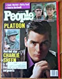img - for People Weekly Magazine March 9, 1987 (Platoon: Charlie Sheen cover, Tom Berenger, Willem Dafoe; Andy Warhol, Betty Ford, Valerie Bertinelli) book / textbook / text book