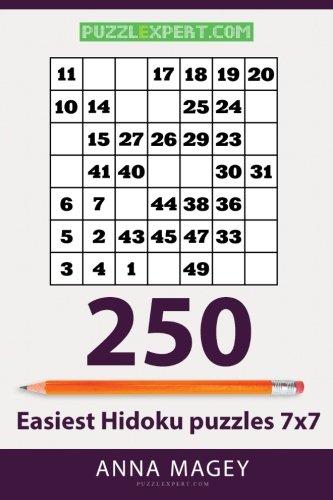 Download 250 Easiest Hidoku puzzles 7x7 (Volume 15) pdf epub