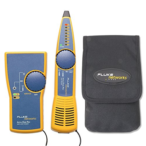 FLUKE IntelliTone Pro 200 Tone/Probe w/Case MT-8200-60-KIT, MT-8202-05