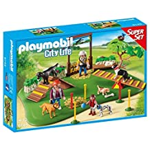 PLAYMOBIL (Playmobil) Dog Park SuperSet Building Kit (parallel import goods)