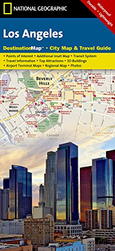 Los Angeles (National Geographic Destination City Map) [National Geographic Maps] (Tapa Blanda)