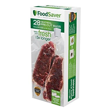 FoodSaver 28 Gallon-sized Bags with unique multi layer construction, BPA free