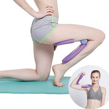Grist CC Ejercitador de piernas Maestro del Muslo mágico, aeróbicos para piernas Delgadas Entrenador para piernas Entrenamiento físico Equipos de Gimnasia: ...