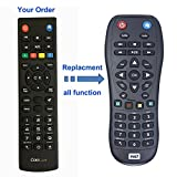Replacement Remote Control Fit For Western Digital WDTV003RNN Remote Control for all models including Elements TV HD Mini Live Plus Hub