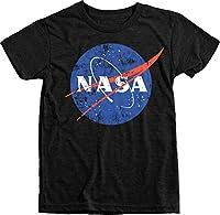 Trunk Candy Kids NASA Space Program Distressed Meatball Logo Tri-Blend T-Shirt