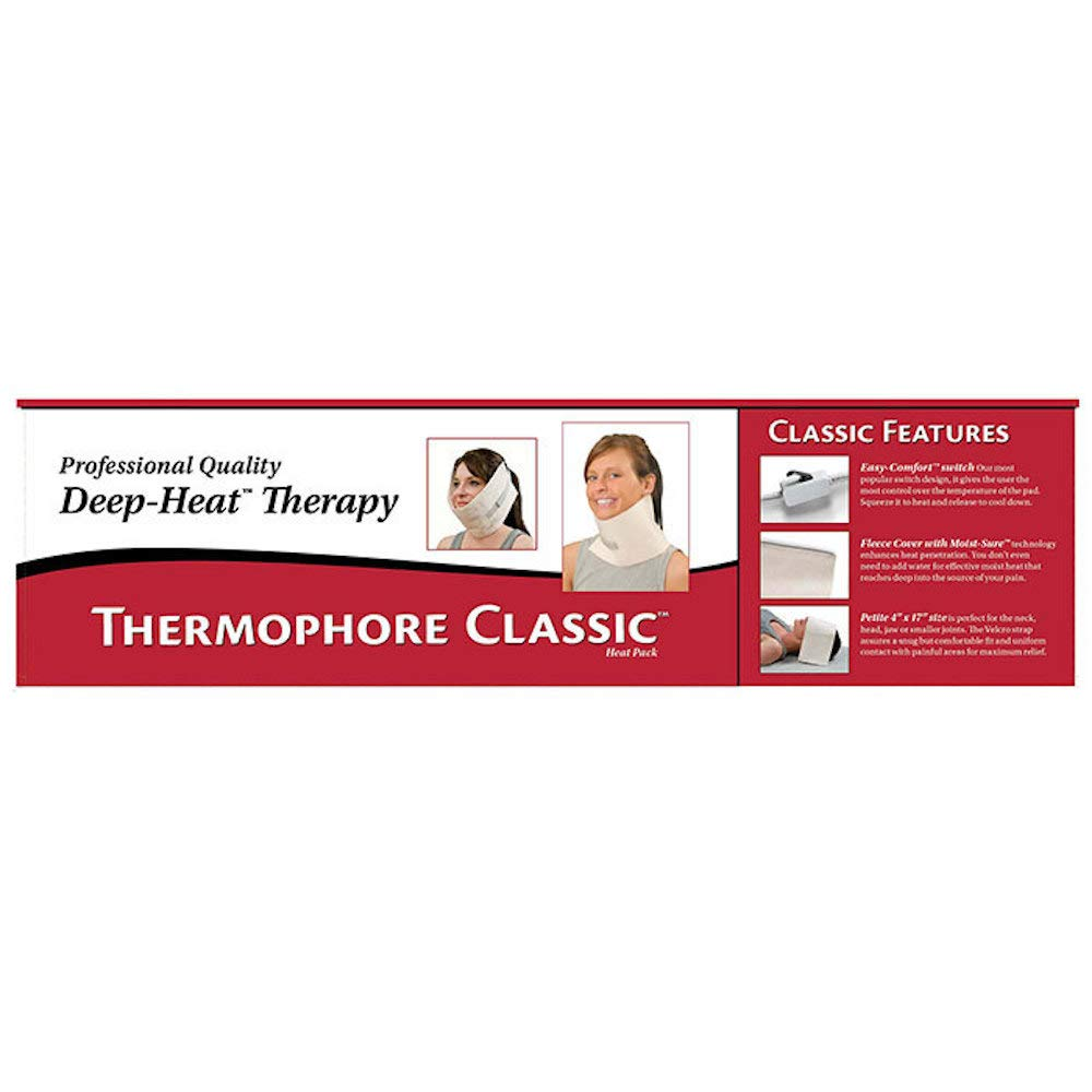 "Thermophore Classic Deep Heat Therapy, Petite, 4"" x 17"""