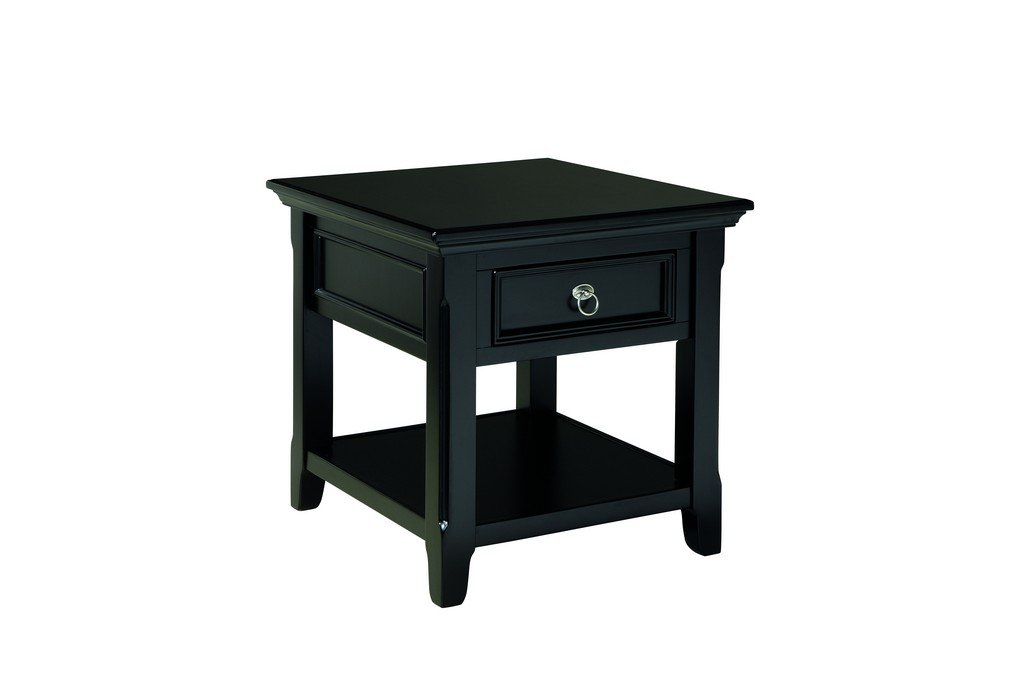 Amazon.com: Ashley Furniture Signature Design   Greensburg End Table   1  Drawer And Fixed Shelf   Vintage Casual   Black: Kitchen U0026 Dining