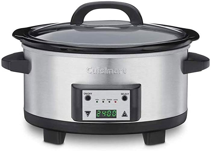 Cuisinart PSC-625FR Cuisinart PSC-625FR 6.5-Quart Programmable Slow Cooker (Renewed), Silver