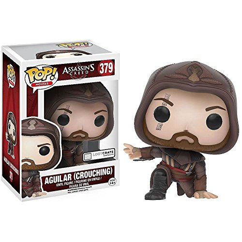 Loot Crate Funko Assassin S Creed Aguilar (Crouching) Pop Movies Figure December 2016 Exclu