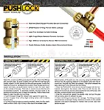Everflow Supplies Pushlock UPSC12 1/2 Inch Long