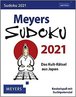Umw 2021 Calendar Meyers Sudoku 2021: 9783840025365: Amazon.com: Books