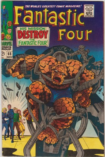 Fantastic Four #68 Silver Age Marvel Comic