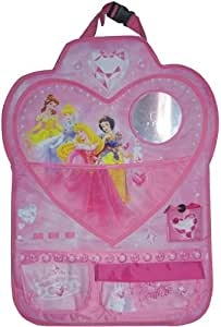 Disney DP-KFZ-621 - Organizador de juguetes para respaldo de asiento, diseño de princesas Disney