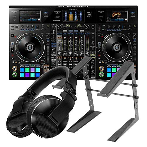 Pioneer DJ DDJ-RZX – 4 Channel Rekordbox DJ/VJ Professional DJ Controller with Closed-back Professional DJ Headphone and…
