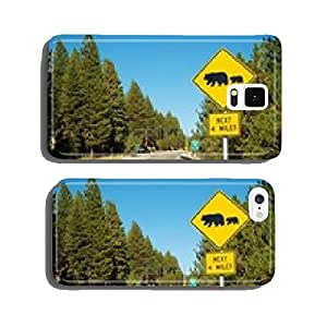 Watch For Bears Street Sign cell phone cover case iPhone5