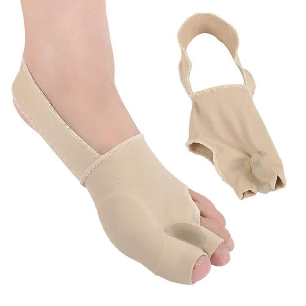 Bunion Corrector Big Toe - Bunion Splints Pain Relief - Hallux Valgus Treatment Kit Protector - Bunions Pads Toe Spacer for Women & Men (L(8-10.5)) by Samplaner