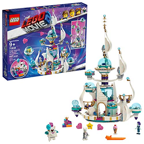 THE LEGO MOVIE 2 Queen Watevra's 'So-Not-Evil' Space Palace 70838 Building Kit, New 2019 (995 Pieces)