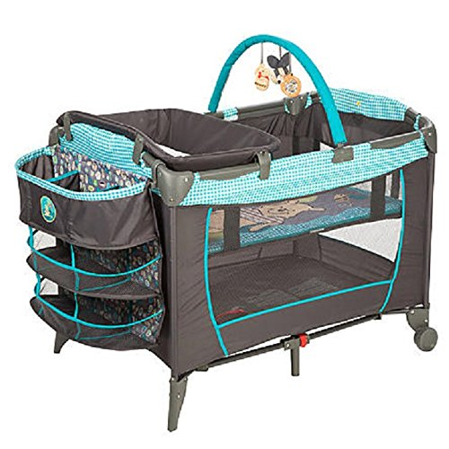 Disney Baby, Infant Play Yard, Play Pen With Changing Station (Geo Pooh) (Winnie The Pooh Pack N Play With Bassinet)