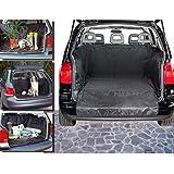 Funda impermeable para el interior del coche (145 x 145 cm) color negro -