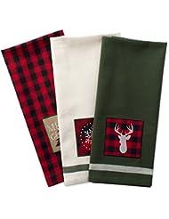 Christmas Kitchen Towels | Amazon Com Christmas Dish Cloths Dish Towels Kitchen