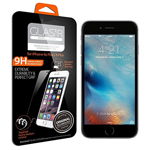 "Iphone 6s Plus Screen Protector,[front and Back] J2cc Premium Ballistic Anti-scratch Nano Tempered Glass Screen Protector for Apple Iphone 6 Plus / 6s Plus 5.5"""