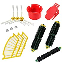 Theresa Hay Bristle & Flexible Beater Brush for iRobot Roomba 500 Series Vacuum Cleaner Parts 500 510 520 530 531 532 535 540 551 560 570 580 581