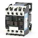 Baomain AC Contactor CJX2-0901 110V 50Hz Coil 9A 3-Phase 3-Pole 1NC