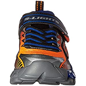Skechers Kids Flashpod Gore And Strap Light Up Sneaker