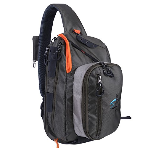 Maxcatch Fly Fishing Sling Pack Adjustable Size (V-comf sling pack)