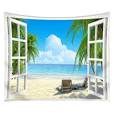 51UMyWZWMbL._SS450_ Beach Tapestries and Coastal Tapestries