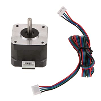 FLAMEER Stepper Motor 42 1.68A 0.3Nm/2.8V de Impresora 3D ...