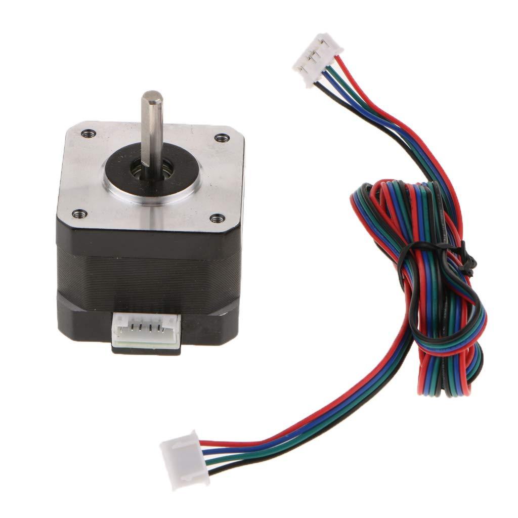 Flameer 42 Stepper Motor 1.68A 0.3Nm/2.8V 42x42x33mm to 3D Printer/Engraving Machine + Motor line
