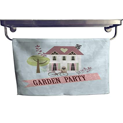 Amazon Com Homecoco Pool Gym Towels Garden Party Invitation Card