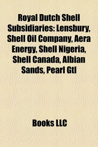 Amazon in: Buy Royal Dutch Shell Subsidiaries Book Online at