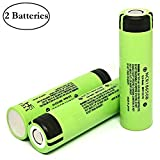 Best  - 2 Pack of Authentic, NCR18650B, 3400mAh, 3.7V 4.88A Review