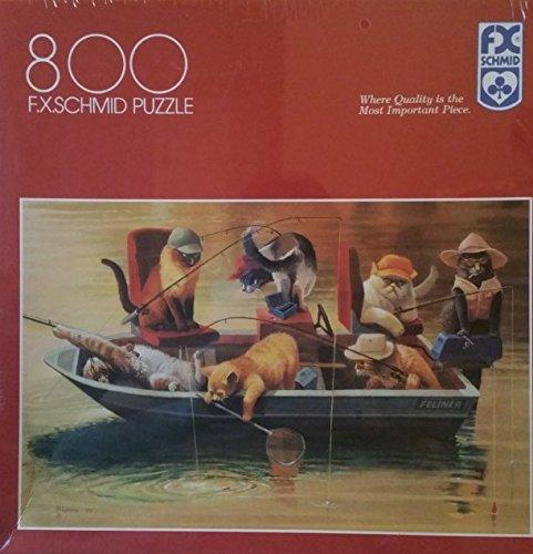 流行 FX Schmid Schmid Cat FX Puzzle「ゴーンフィッシュ」ジグソーパズル Cat 800ピース B07F8WG3X5, スレンダー倶楽部:f4ce026b --- 4x4.lt