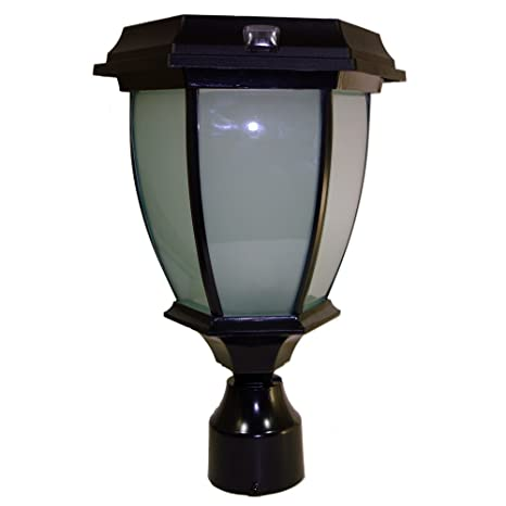 Solar Goes Green Coach Lamp   3u0026quot; ...