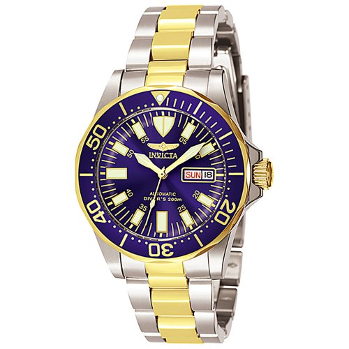 Invicta Men's 7046 Signature Collection Pro Diver Two-Tone Automatic ()