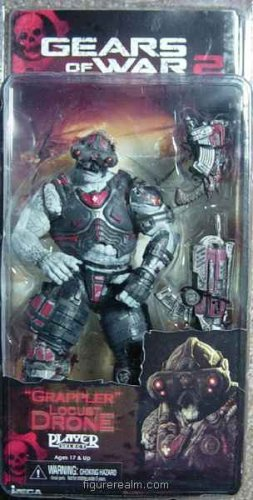 Neca - GEARS OF WAR - Grappler Locust Action Figure Serie 3
