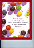img - for Excel Manual for Moore's The Basic Practice of Statistics book / textbook / text book