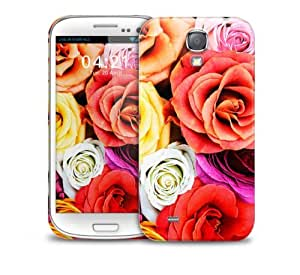 Colourful Roses Samsung Galaxy S4 GS4 protective phone case