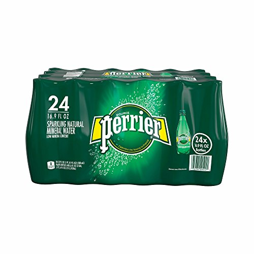 Perrier Sparkling Natural Mineral Water, 24 pk./16.9 oz. (pack of 6) by Perrier
